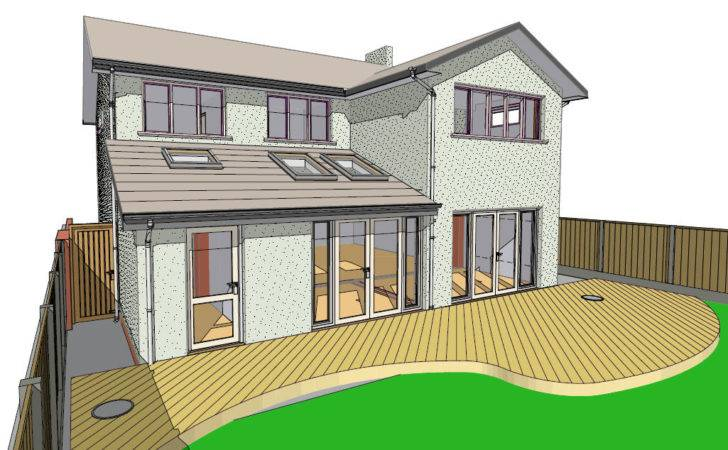 Lapworth House Extension Proposed Rear Homeplan Designs