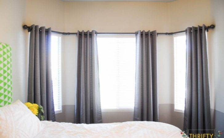 Large Bay Window Curtain Rods Rod Find