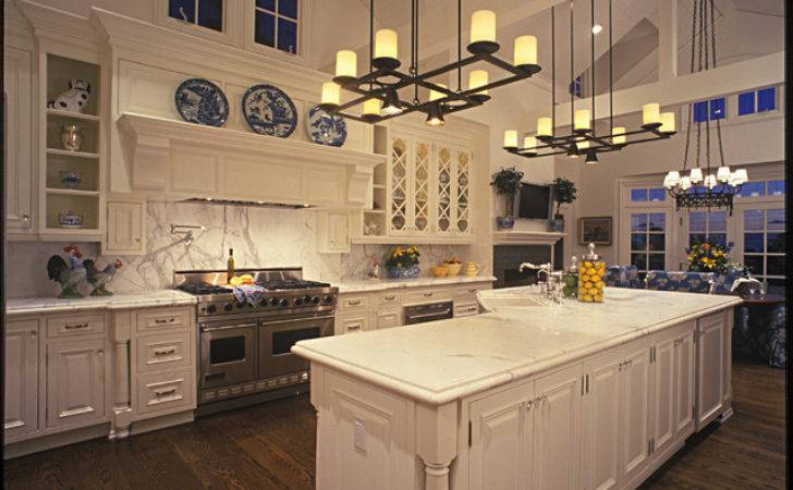 Large Country Kitchen Traditional San Diego