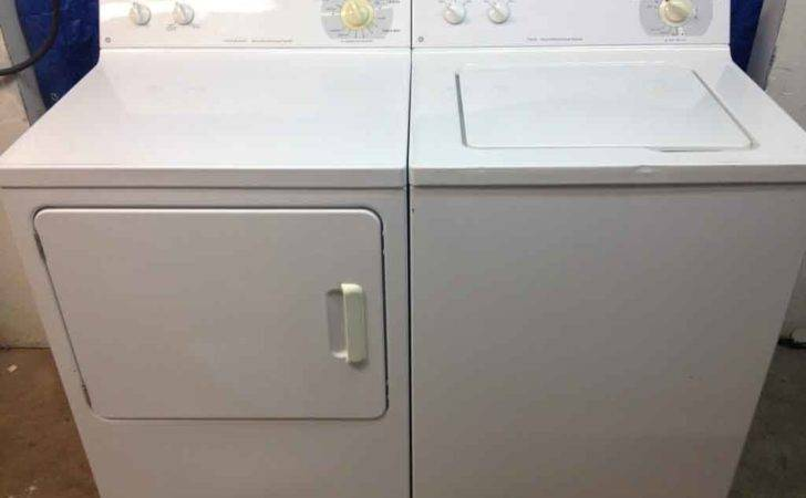 Large Reliable Matching Washer Dryer Set