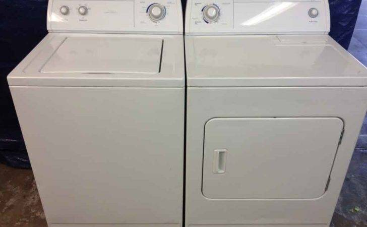 Large Reliable Whirlpool Washer Dryer Matching