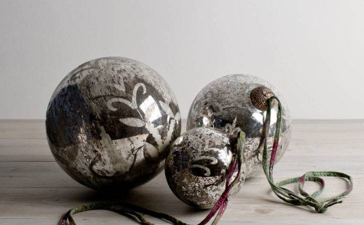 Large Silver Baubles Love Want Buy