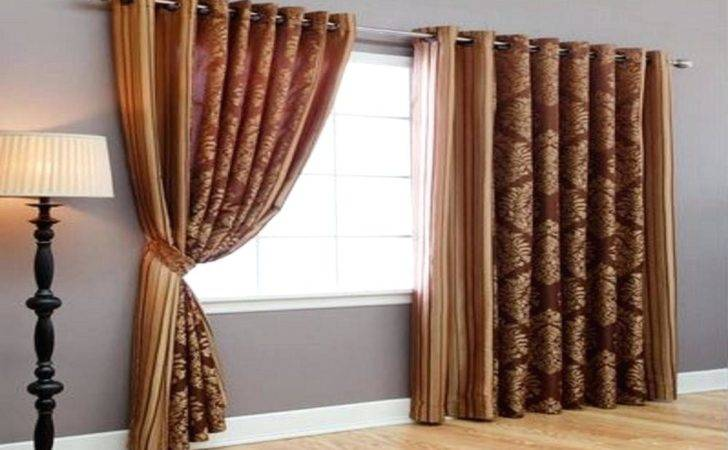 Large Window Curtains Teawing