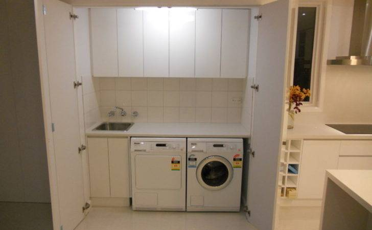 Laundries Contemporary Laundry Room Melbourne