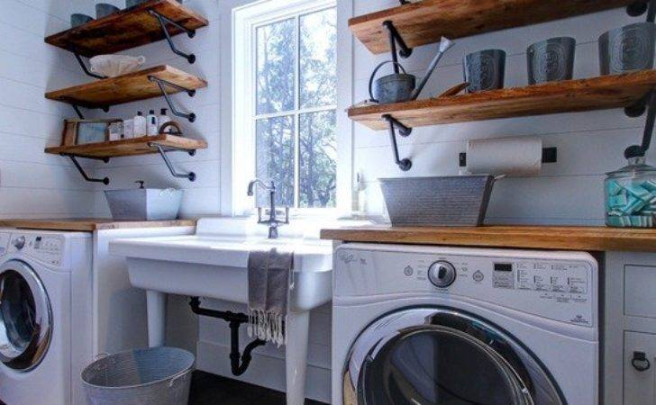 Laundry Room Decorating Accessories Tidy