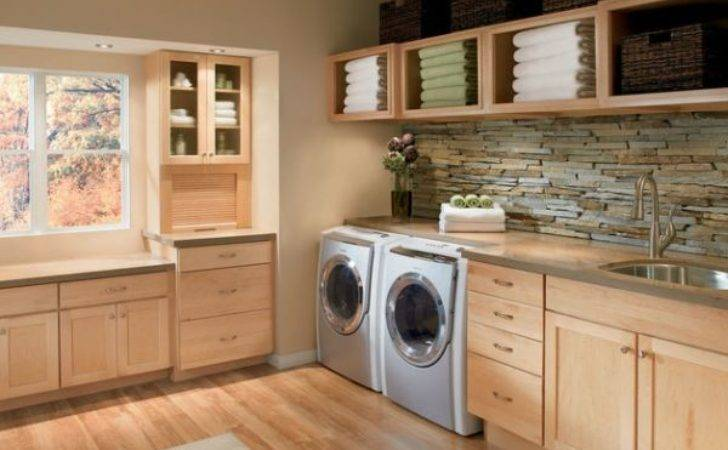 Laundry Room Shelving Storage Ideas