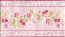Laura Ashley Pink Floral Border Ebay