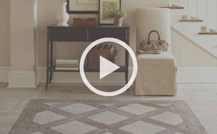 Lay Out Tile Floor Pattern Home Depot
