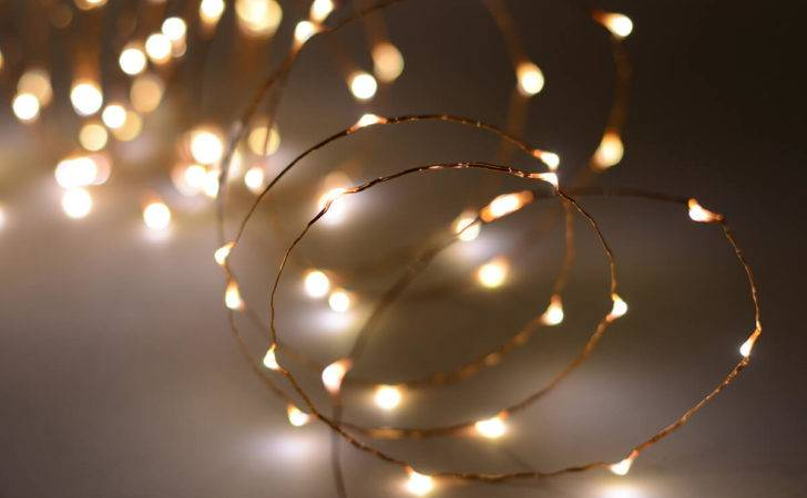 Led Feet Fairy Lights Copper Wire Warm White