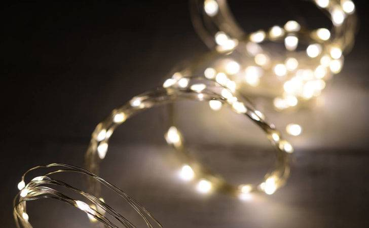 Led Strand Fairy Lights Warm White Outdoor