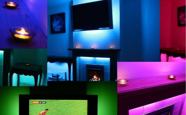 Led Tube Mood Lighting Ideas Back Lights Colour