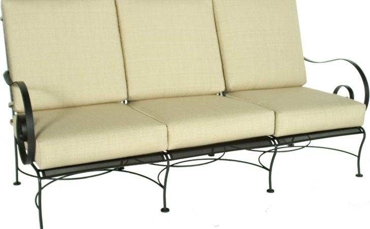 Lee Avalon Wrought Iron Sofa