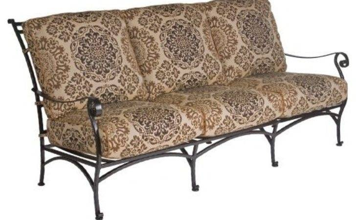 Lee San Cristobal Wrought Iron Sofa Traditional