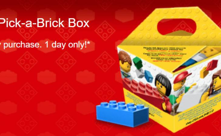 Lego Pick Brick Box Shop One Day Only
