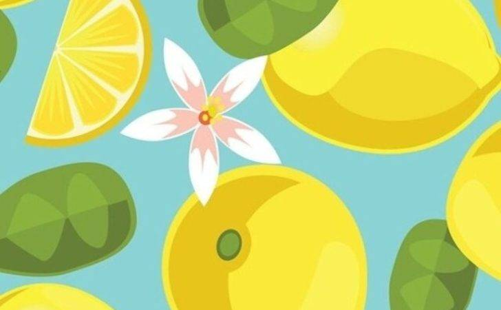 Lemon Pattern Find More Fruity Iphone Android