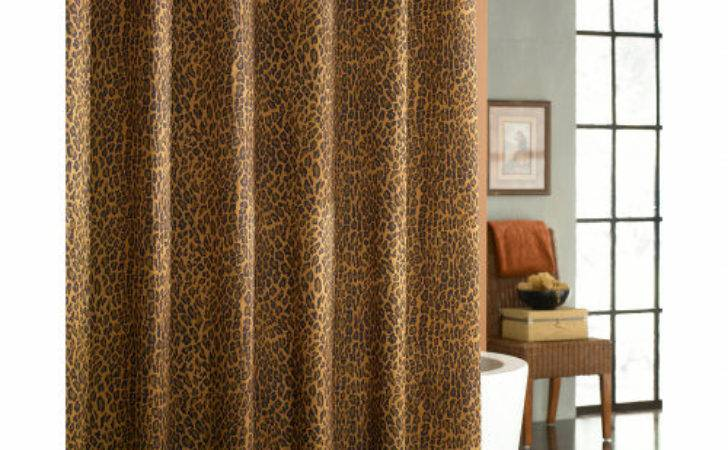 Leopard Curtain Styles Design Ideas