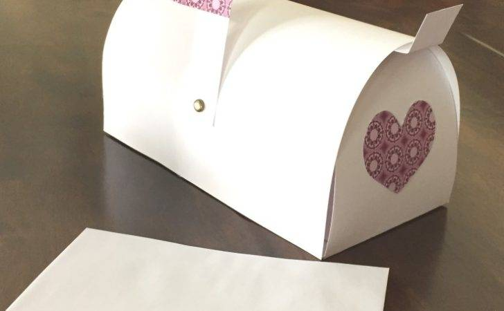 Life Journey Perfection Make Paper Mailbox