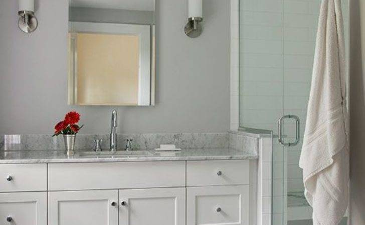 Light Gray Bathroom Tile Ideas