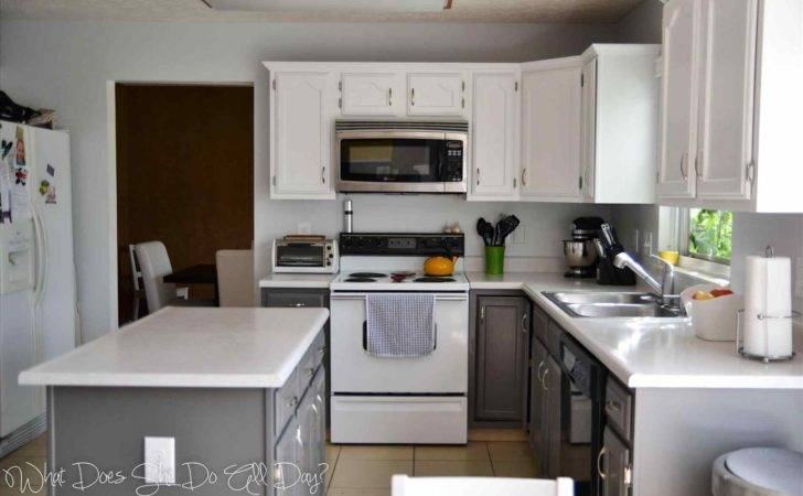 Light Gray Painted Kitchen Cabinets Datenlabor Info