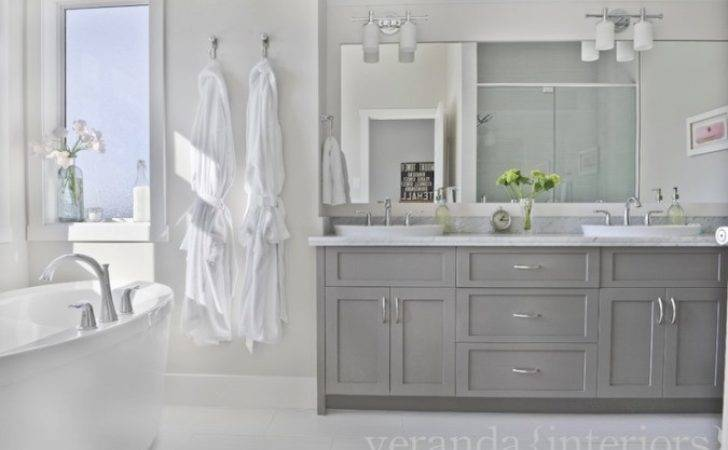 Light Grey Fitted Bathroom Furniture Home