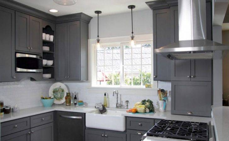 Light Grey Kitchen Walls Garden
