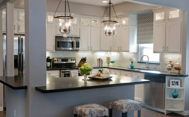 Light Your Kitchen Add Decor Using Gray
