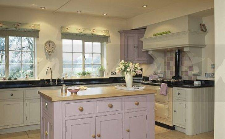 Lilac Island Unit Cream Country Kitchen Ewa