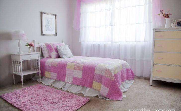 Little Girl Princess Room Makeover Reveal Yellow Bliss
