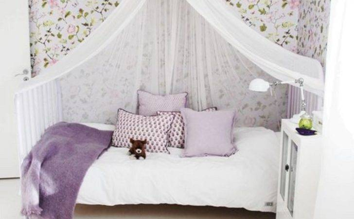 Little Girls Room Canopy Bed Freshouz