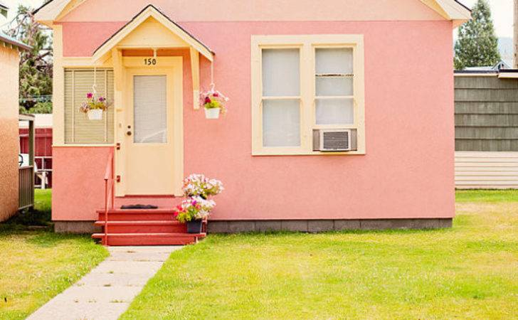 Little Pink House Pineconecamp Etsy
