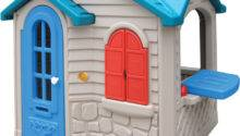 Little Tikes Plastic Playhouse Kids Outdoor