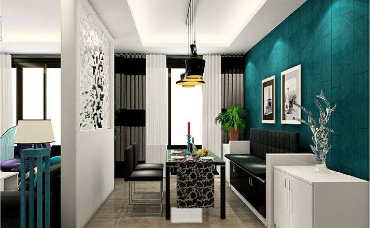 Living Dining Room Partition Ideas Interior Design