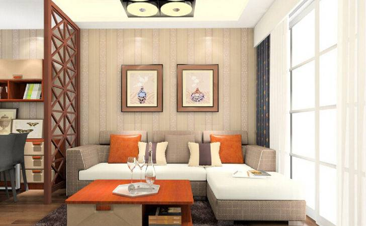 Living Drawing Room Partition Models Home Combo