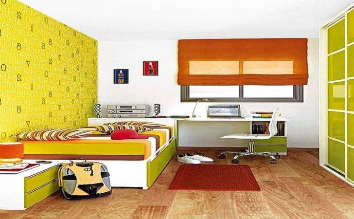 Living Room Decorating Ideas Feature Wall Yellow