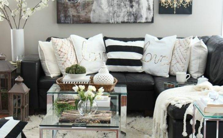 Living Room Ofwhite Sofa Modern