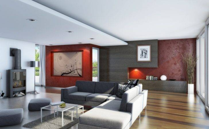 Living Room Wood Flooring Interior Design Ideas