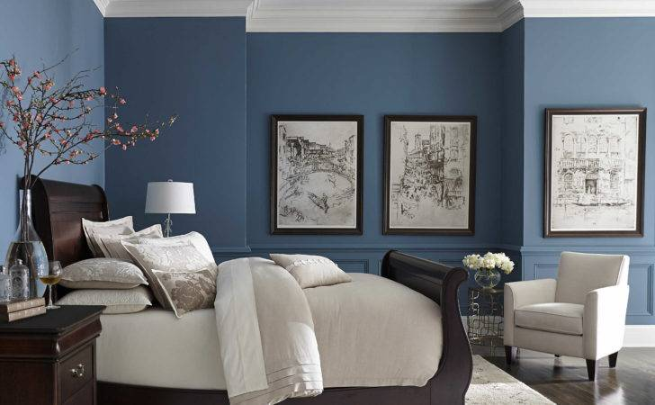 Living Rooms Painted Blue Vuelosfera