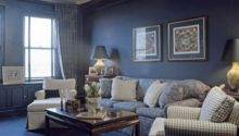 Living Rooms Painted Blue