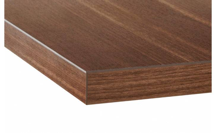 Ljan Custom Made Worktop Walnut Effect Laminate