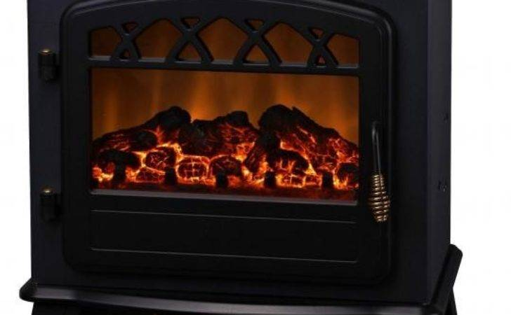 Log Burning Electric Flame Effect Fires Fireplace Stove