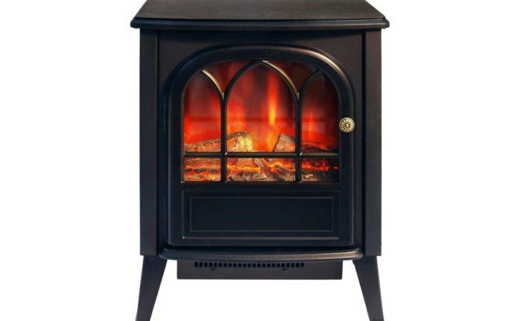Log Burning Flame Electric Fire Heater Effect Stove