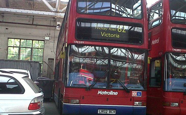 London Buses Potters Bar Bus Garage Open Day