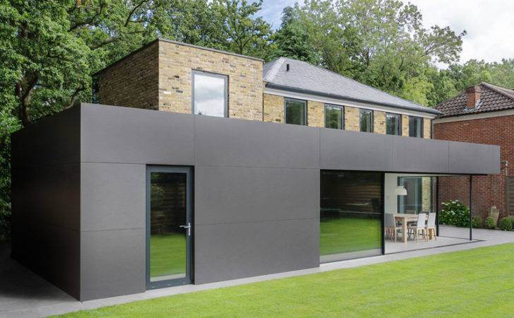 London House Extensions Reveal Line Between Old New