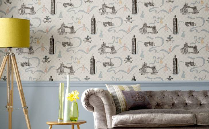 London Themed Wallcoverings