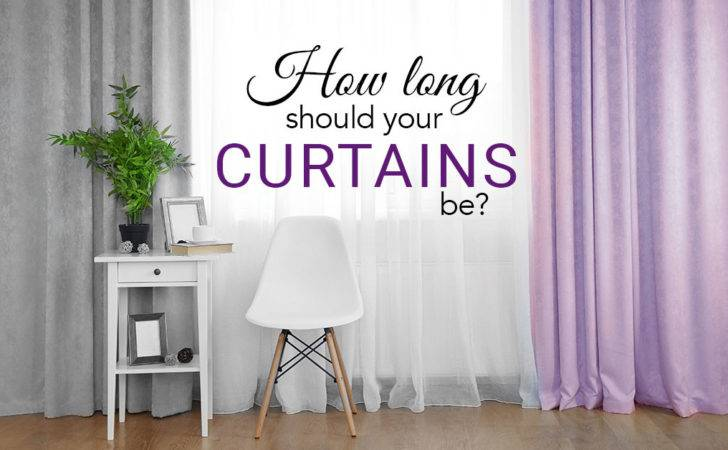Long Should Your Curtains Interior Design Ideas