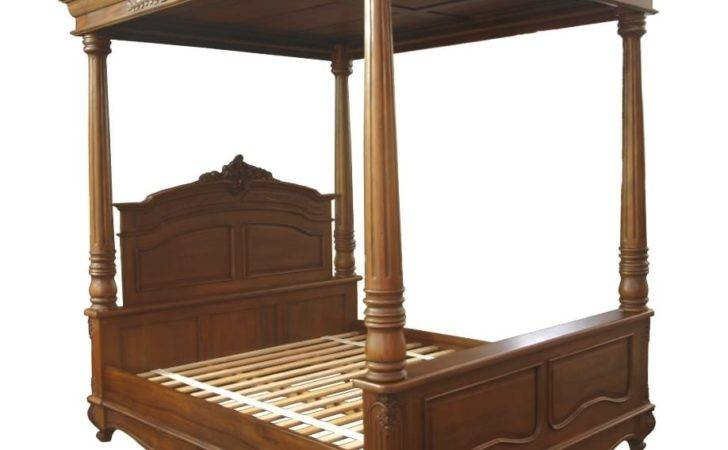 Louis French Poster Bed Akd Furniture