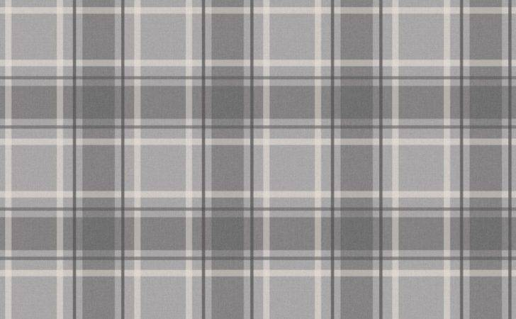 Love Tartan Soft Grey Charcoal