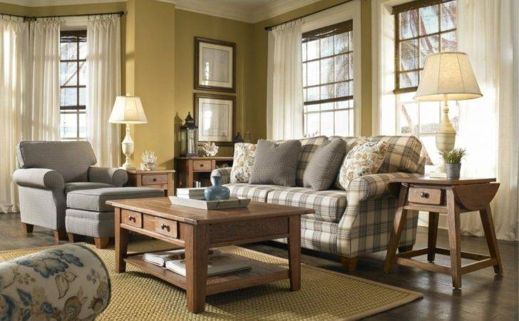 Lovely Country Style Living Room Furniture Sets