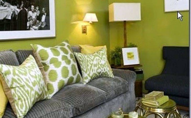 Lovely Grey Green Living Room Ideas