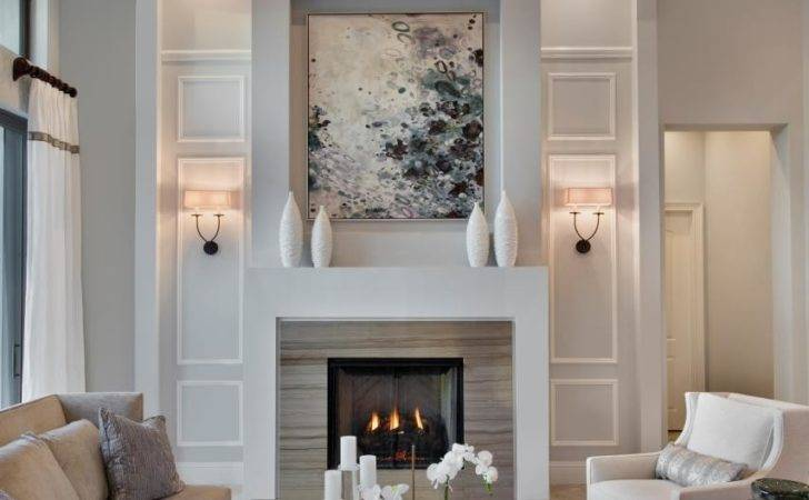 Lovely Living Rooms Fireplaces